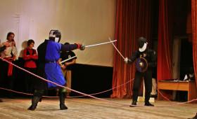 Репортаж с турнира по дуэльному историческому фехотванию