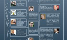 Инфографика: скандал с ЕГЭ (лето 2011г.)