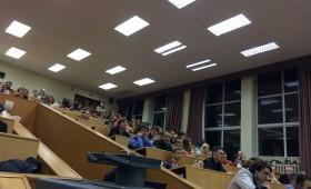 Встреча ректората со студентами