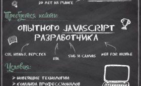 Вакансия JavaScript разработчика в IT компании Competentum