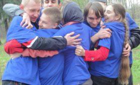 Пасхальные игры в роще МФТИ 2017