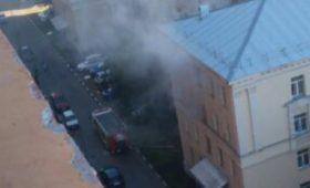 Пожар в общежитии №2 МФТИ