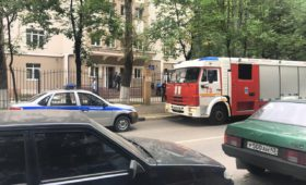 Эвакуация Аудиторного корпуса МФТИ