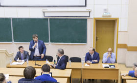 Отчет о встрече студентов с ректоратом 15 ноября