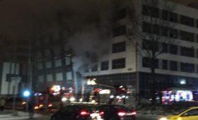 Пожар в «Физтехпарке»