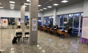Подведение итогов голосования на избирательном участке МФТИ
