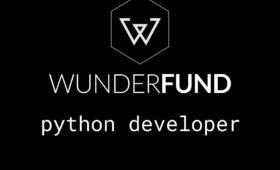 Python разработчик в компании Wunderfund