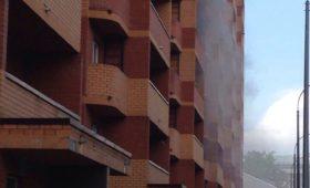 Задымление в общежитии №10