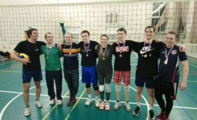 22 декабря пройдет любительский турнир по волейболу
