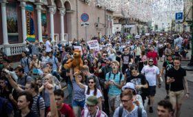 В Москве проходят несогласованные протестные акции. Поговорили с физтехами, принимающими в них участие