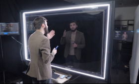 Новая видео-студия «Jalinga» для преподавателей МФТИ для записи занятий